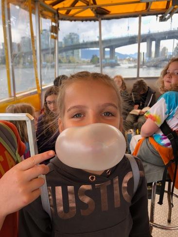 Burst Bubble Aboard AquaBus
